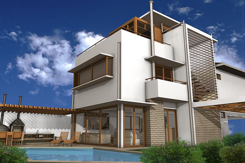 Exterior Architecture architecture - eias3d
