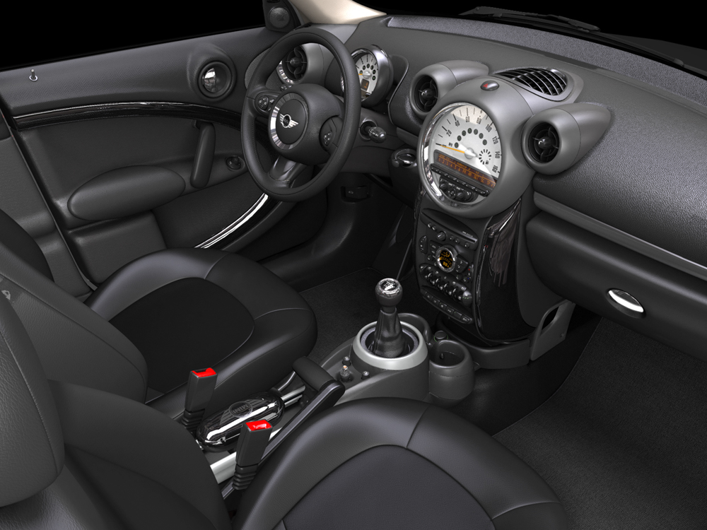 Mini Cooper Countryman Interior - EIAS3D